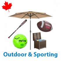 6 Pallets of Outdoor & Sporting, 2,165 Units, Customer Returns, Ext. Retail $33,486 CAD, Mississauga, ON, Canada