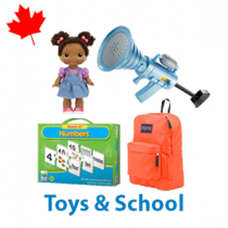 1 Pallet of Toys & School, 661 Units, Customer Returns, Ext. Retail $6,157 CAD, Mississauga, ON, Canada