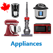 2 Pallets of Appliances Ext. Retail $6,118 CAD, Mississauga, ON, Canada