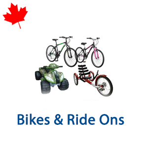 8 Pallets of Bikes & Ride Ons Ext. Retail $12,499 CAD, Mississauga, ON, Canada