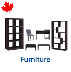 4 Pallets of Furniture Ext. Retail $8,624 CAD, Mississauga, ON, Canada
