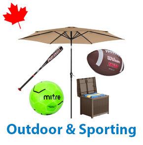 5 Pallets of Outdoor & Sporting, 1 Ext. Retail $17,955 CAD, Mississauga, ON, Canada
