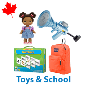 2 Pallets of Toys & School Ext. Retail $5,088 CAD, Mississauga, ON, Canada