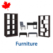 1 Pallet of Furniture, 11 Units, Customer Returns, Ext. Retail $811 CAD, Mississauga, ON, Canada