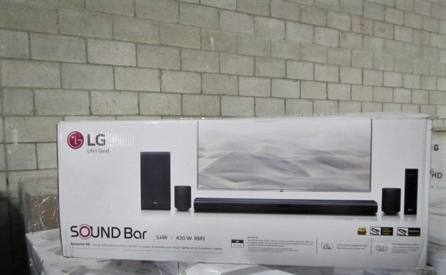 5 Pallets of Home Theater Soundbar Systems by Sony, Samsung, LG & More, Ext. Retail $36,669 CAD, Grade C, Barrie, ON, Canada