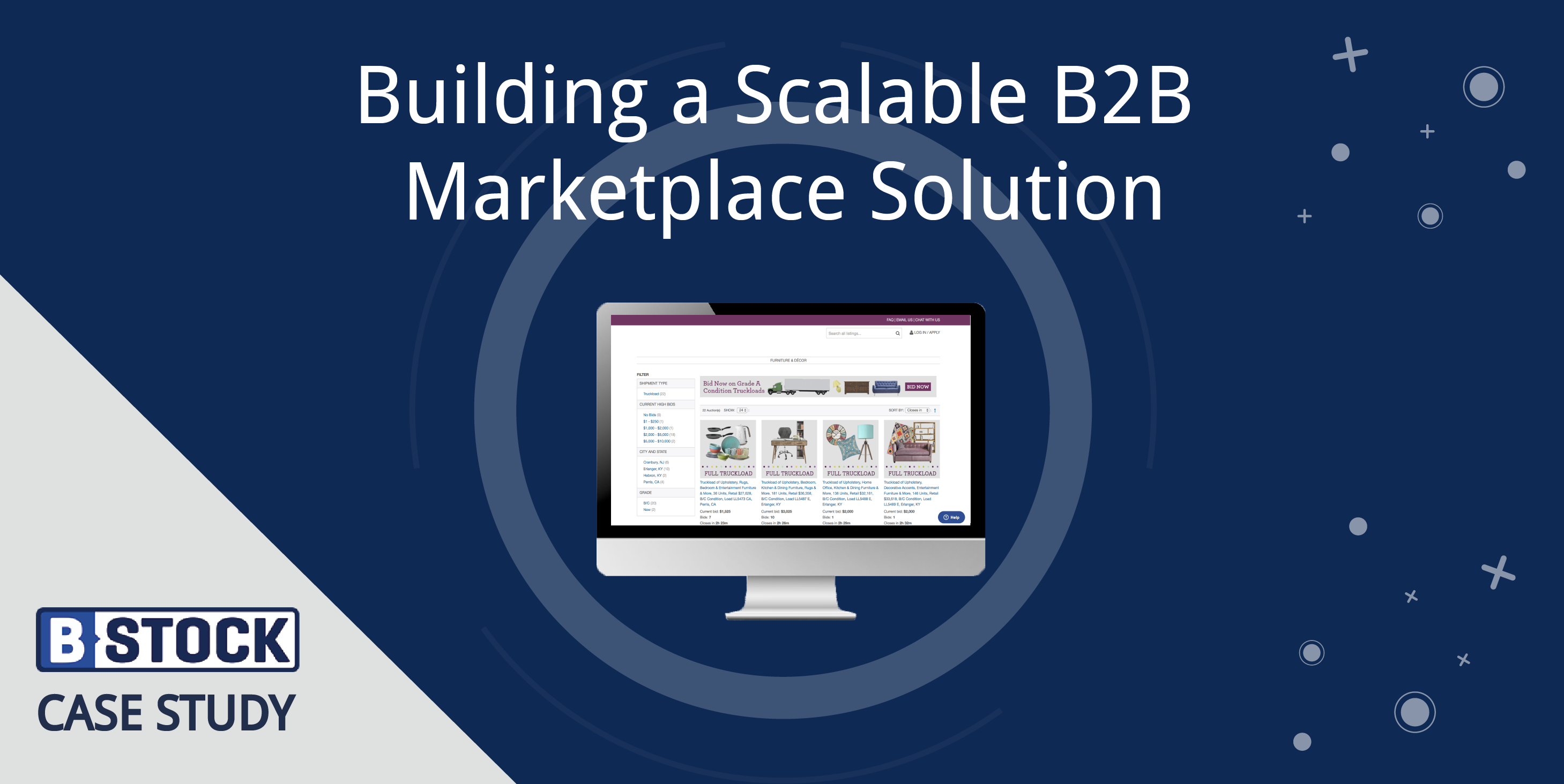 Case Study: Building a Scalable B2B Marketplace Solution
