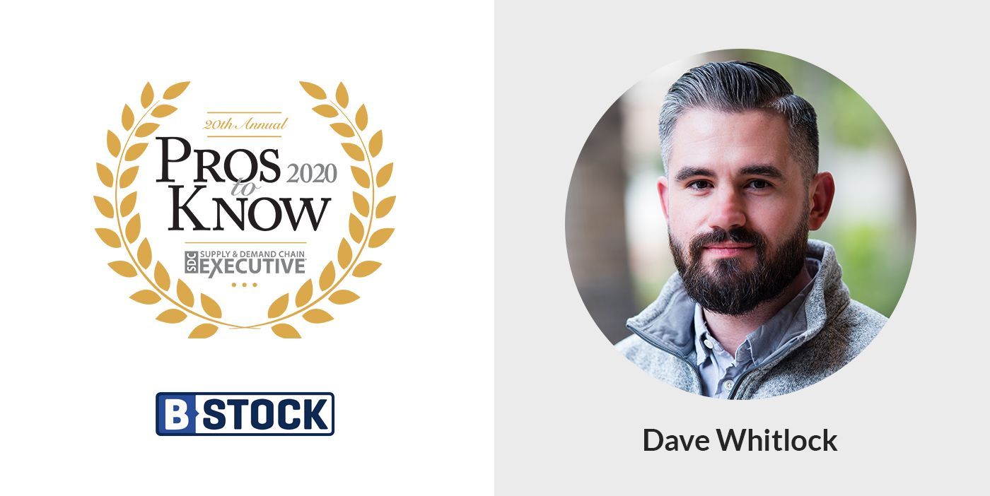 """Congrats to our 2020 """"Pro to Know"""" – Dave Whitlock!"""