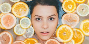woman's face health & beauty liquidation