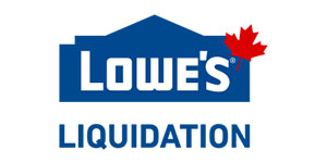 Marketplace Lowes Canada Liquidation