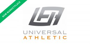 universal athletic logo liquidation marketplace launch