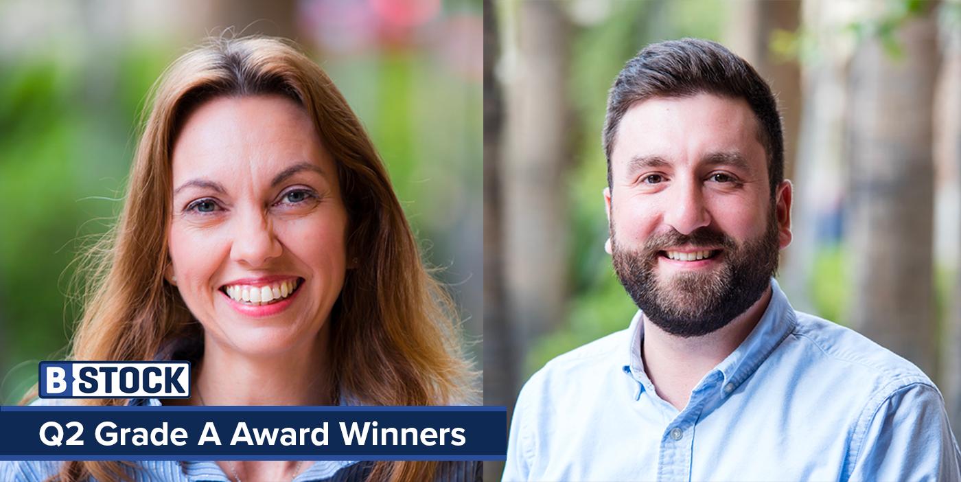 Grade A Award: Meet B-Stock's Winners for Q2!