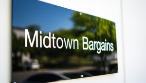 Midtown Bargains warehouse