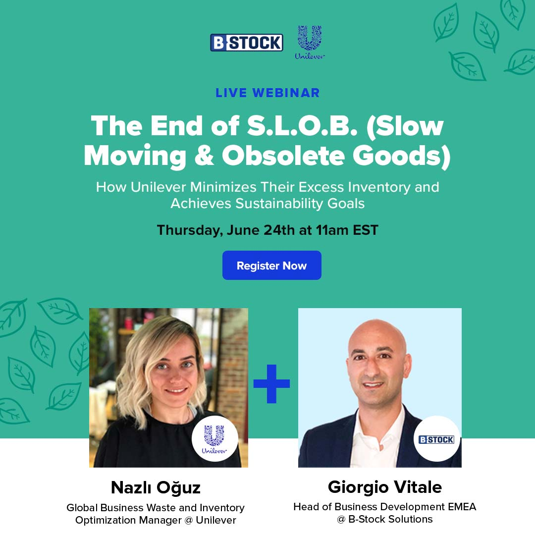 Watch Webinar: How Unilever Minimizes Their Excess Inventory and Achieves Sustainability Goals
