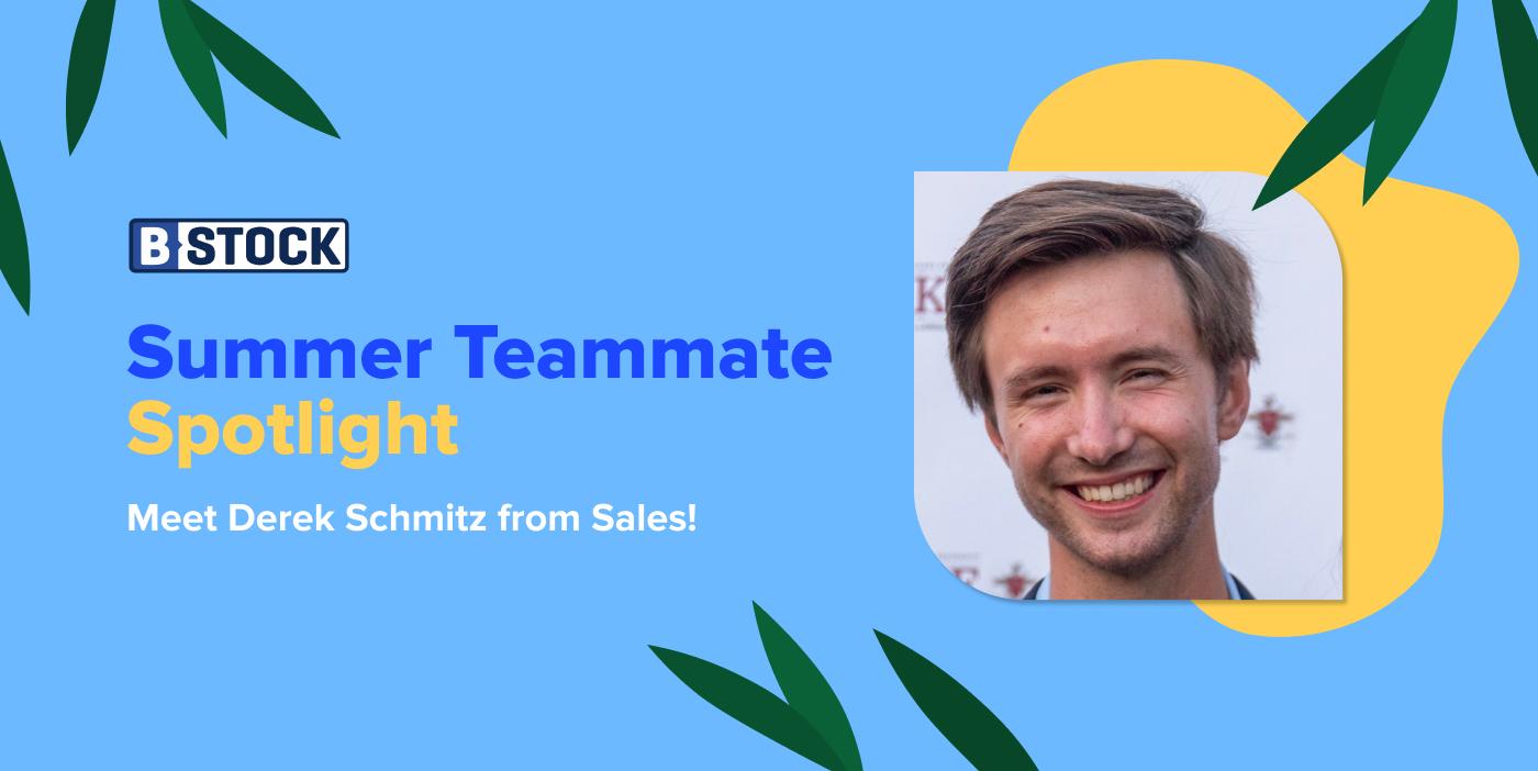 B-Stock's Summer Teammate Spotlight: Meet Derek Schmitz