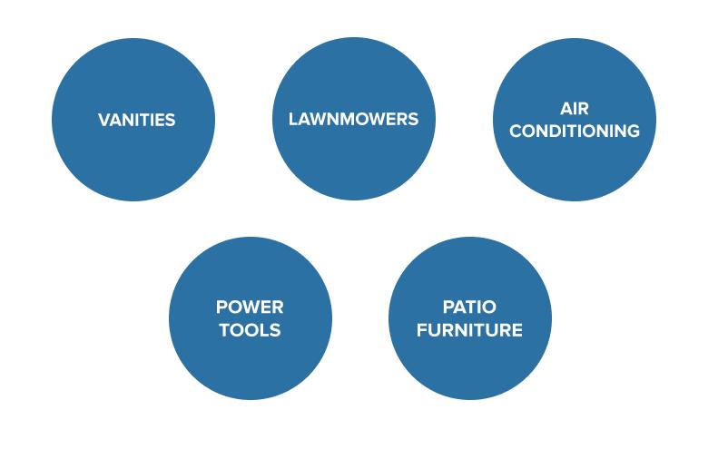 home improvement inventory