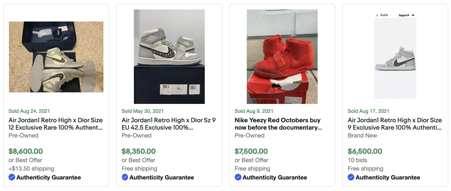 Hur man börjar sälja sneakers på eBay