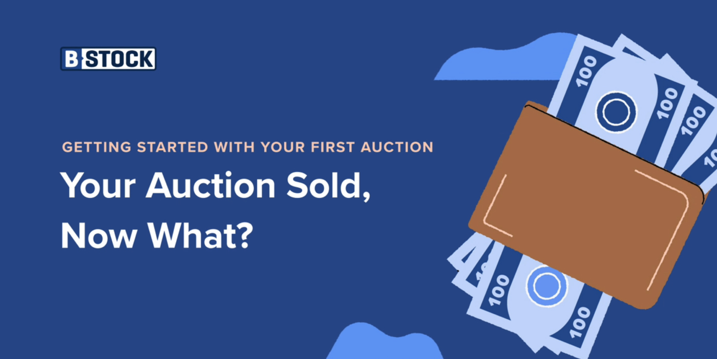 Video: Your Auction Sold, Now What?